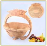 Tomato Figure Bamboo Gift Basket BK009