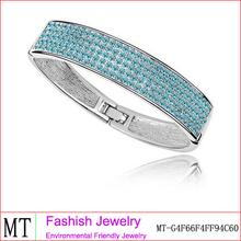 nuevos accesorios cristalinos de la manera brazaletes con yiwu