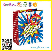 Happy Birthday Party Paper Bag Manufacturer