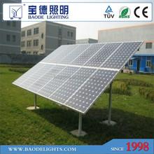 solar pv panel module 185W/190W TUV MCS IEC CQC ISO