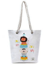 2015 Easy Carry Foldable Polyester And Canvas Shopping Bags