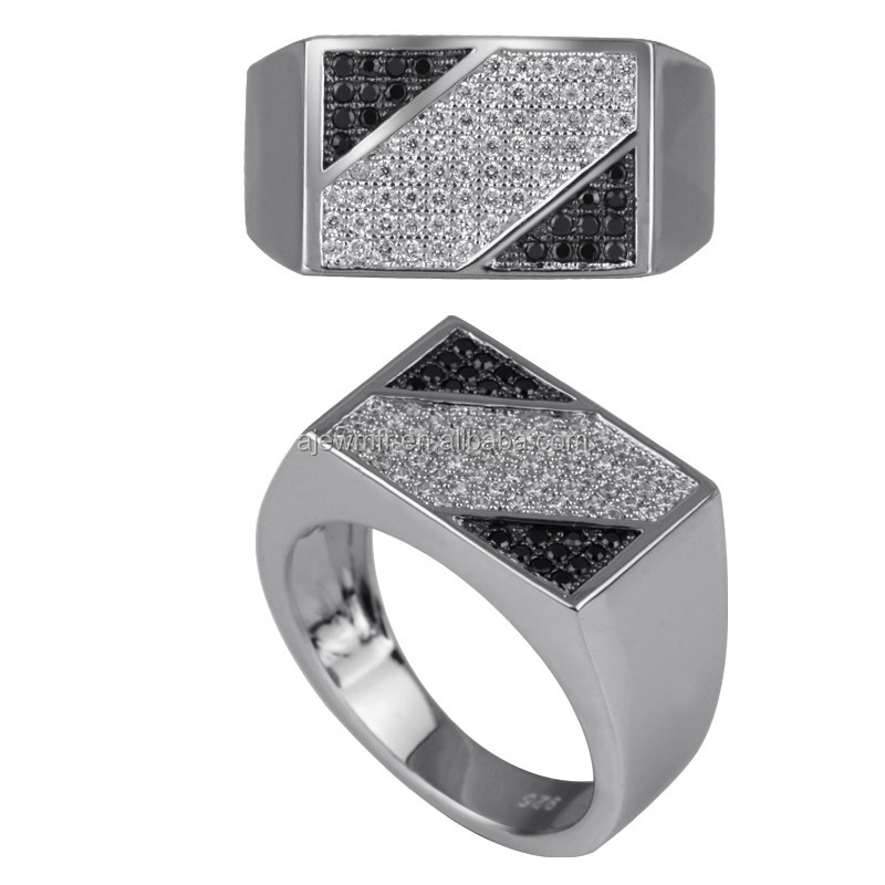 Silver Rings For Boys High quality silver jewelry