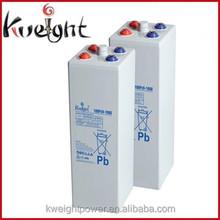 Kweight 2v 1000ah 2 volt deep cycle solar batteries 2v forklift battery OPzV 1000