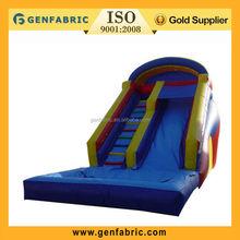 Newest Large Inflatable Slide , Swimming Pool Water Slide Manufacturer