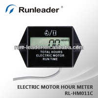 Hour Meter for electric motor motorcycle snowmobile snowblower pump trencher lawn mower