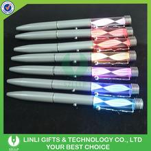 Customized Logo Metal Led Writing Pen