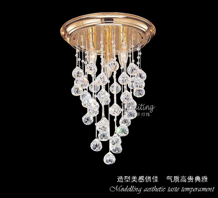 Alibaba Modern Ceiling Lights : Modern large hotel decorative crystal ceiling light buy