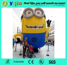 Custom made large advertising inflatable minion for advertising