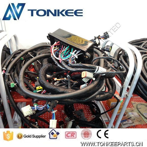 530-00205 530-00208E 530-00207B excavator cabin cable wiring wire harness for DOOSAN S220-7.jpg