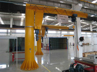 Column jib crane for sale, pillar jib crane price, 0.5-10t Electrical workshop used jib crane