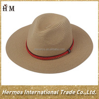 straw hat body sombrero straw hat wholesale 100% paper party hat with colorful band