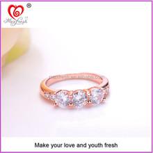 2015 wholesale rose gold plating finger ring latest gold finger ring designs