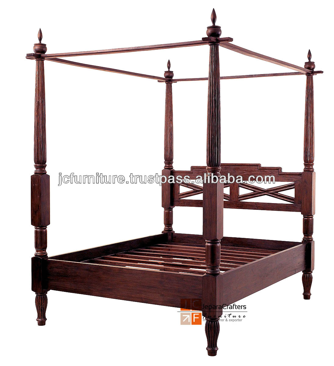 Four Post Canopy Bed antique canopy bed. antique black four post canopy style bed at