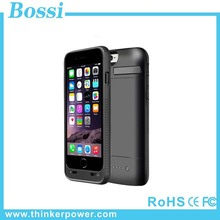 for iphone 6 Battery Case 3800 Mah External Battery Backup Charger Case 4.7 Inches With Kickstand 4 Led Light Indicators