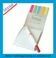 2014 HOT promotional pocket small notepad with pen