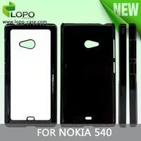 aluminum sublimation hard plastic phone case for Nokia 540