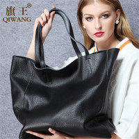 2015 European fashion full grain big tote bag for tall women shiopping bag wholesale Free Shipping