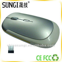 flat wireless computer mouse/thinest wireless mouse