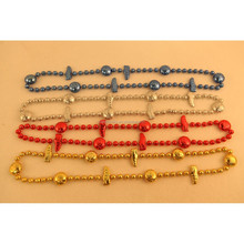 carnival The United States National Day Christmas party decorations hang 84 cm football shoes necklace