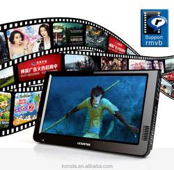 """10"""" portable 1080P DC 12V Digital OEM/ODM multifunctional car tv set"""