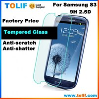 for galaxy s3 S4 S5 S6 High clear tempred glass factory screen protector wholesale , for samsung galaxy s3 i9300 tempered glass