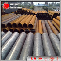 EN10210 S235JRH S275JOH S275J2H S355JOH ERW Welded round hot dipped galvanized mild carbon steel tube