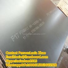 3*6 Foot F17 Film Faced Plywood with phenolic glue hardwood core