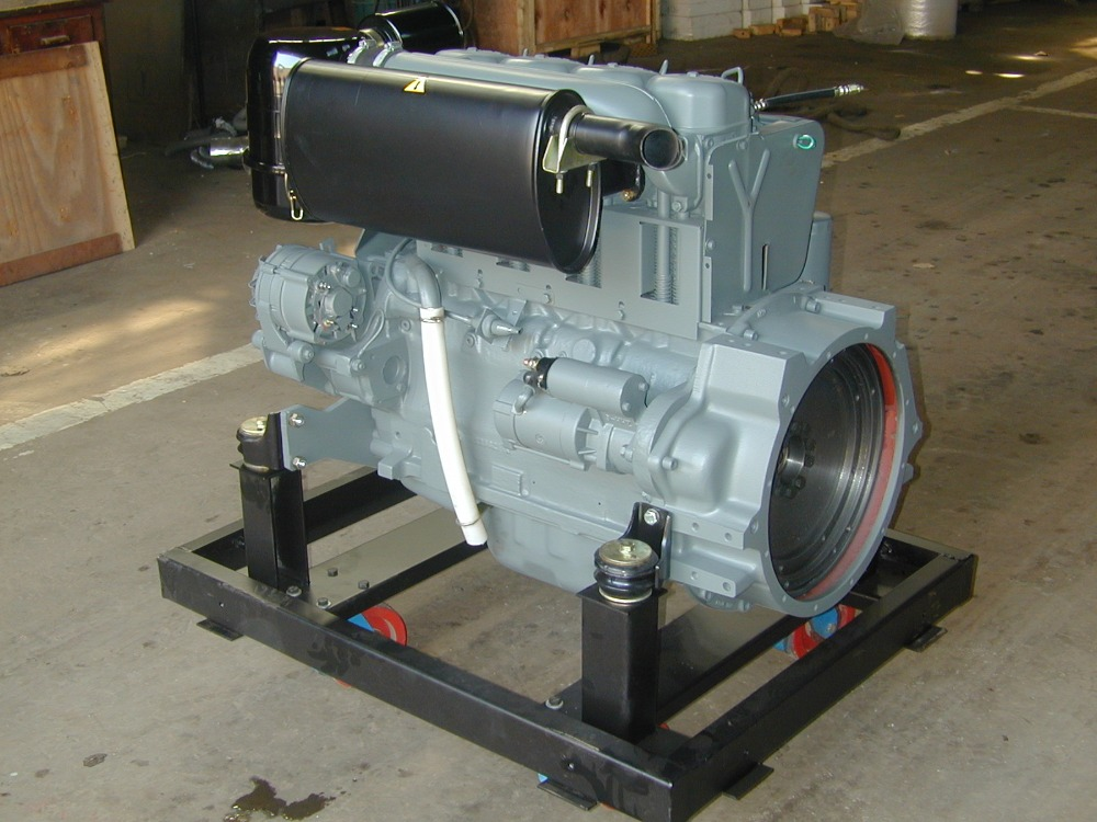 Deutz f4l912 air cooled 4 cylinder diesel engine for sale for Deutz motor for sale