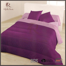 Luxury satin patchwork quilt, warm polyester quilt, hot sale 3d bedding sets