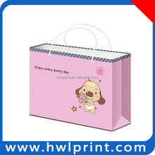 New arrival paper board high quality eco friendly shopping bag