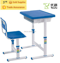 ergonomic height adjustable healthy table and chair for children