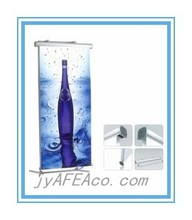2015 NewStyle Telescopic pole roll up banner, Deluxe flat base roll up stand