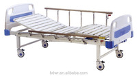 2 function manual bed for hospital and home care