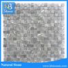 Tumbled black marble bathroom tiles glass mosaics