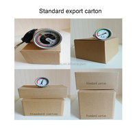 installation good quanlity Temperature compensated bourdon tube SF6 pressure gauge SF6 manometer