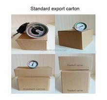 installation good quanlity Temperature compensated bourdon tube SF6 pressure gauge SF6 manometer