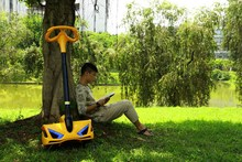 Sunnytime- Mini scooter electric as robstep scooter