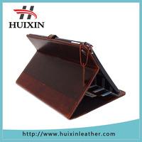 Genuine vintage genuien leather handmade case for Appler ipad Air 2 luxury credit cards slots case
