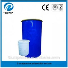 Insulating glass making used two component polysulphide sealant
