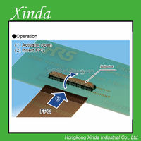 0.4mm,0.5mm,1mm Pitch,Flexible Printed Circuit & Flexible Flat Cable ZIF Connectors