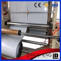 Best price&good quality two layers co-extrusion pe courier bag film blowing equipment