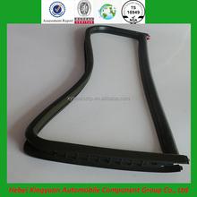 automotive corner window rubber edge trim