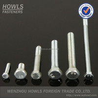 High quality cheap price DIN933 DIN931 carbon steel hex bolt