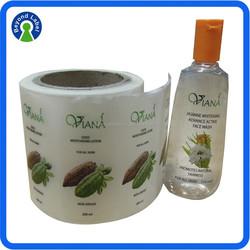 Wholesale Custom Transparent Stickers,Waterproof Clear Sticker,Custom Waterproof Transparent Self Adhesive Sticker Label