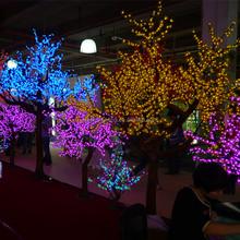 LED color changing light handicraft christmas tree