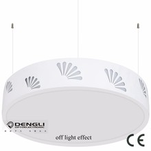 d450mm modern surface mounted hanging luxury led panel light for hotel