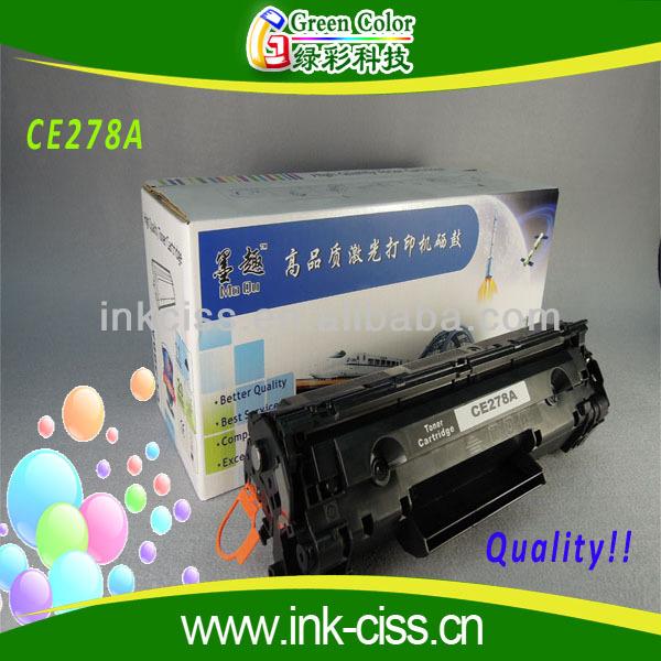 Compatible cartouche de toner ce278a, cartouche de toner ce278a, cartouche de toner pour imprimante hp ce278a
