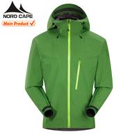 Custom outdoor 10000mm foldable nylon mens waterproof jacket