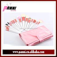 Wonderful beauty brush 20pcs comfortable goat&pony hair brush