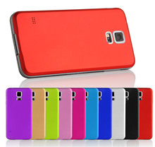 For Samsung Galaxy S5 V i9600 Brushed Aluminium Housing Battery Back Case Cover